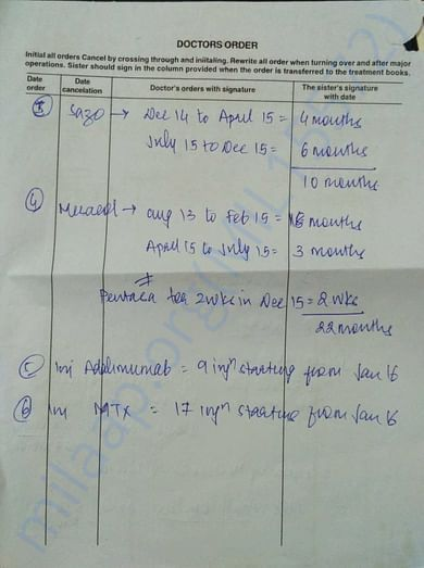 Medical Record - 18