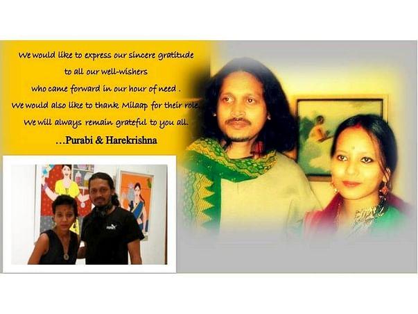 Help Purabi win the battle of life