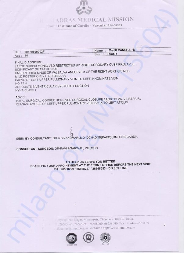 Medical Report Page - 2