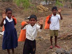 Educational Stationery distribution for Tribal Children