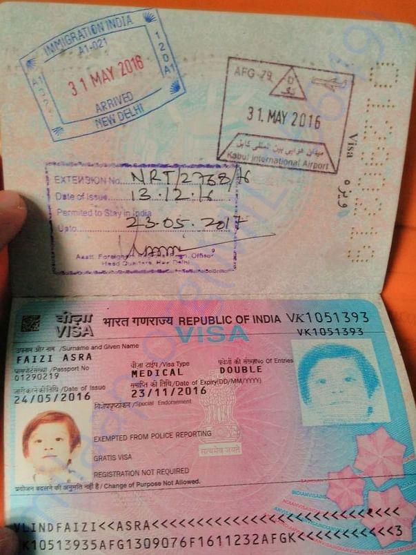 Asra Medical Visa