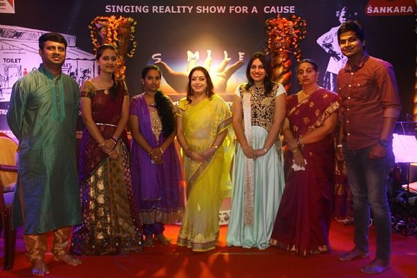 Chant India singing reality show to raise fund for Smile Swachalaya
