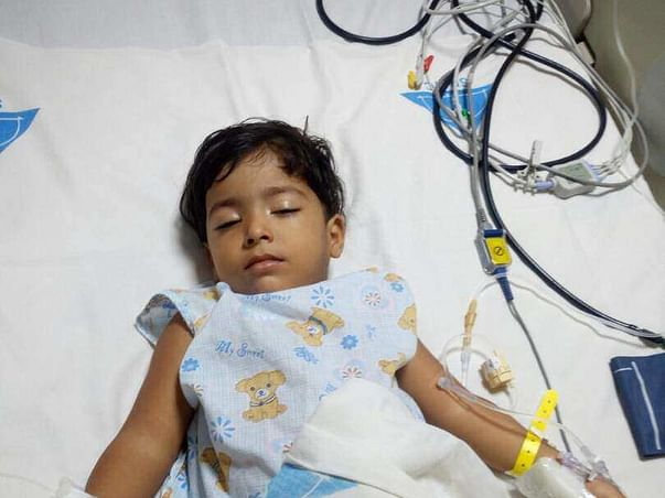 Help 3-year-old baby Arfana fight blood cancer