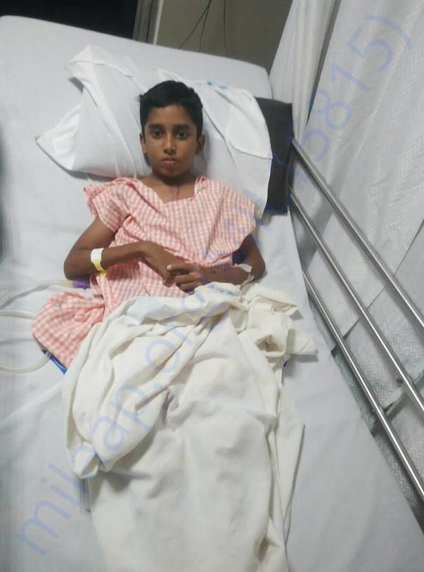 Kirubakaran recent  hospital photo