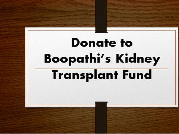 Help for Kidney Transplant Operation