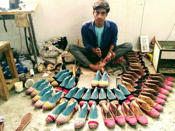 Help me raise funds for betterment of unprivileged shoemaking artisans