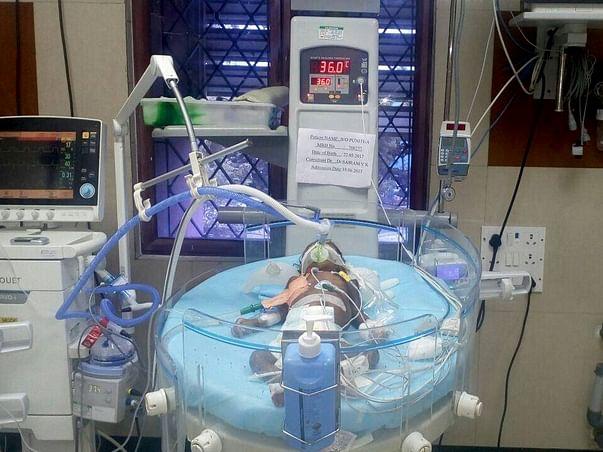 Urgent: Please save three months kid life