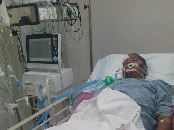 Help divyamsh fighting with life in a critical stage