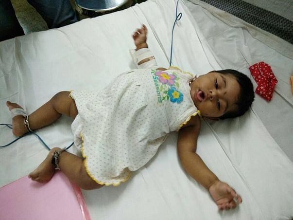 Help 8 month old baby Ovi Gawade undergo liver transplant