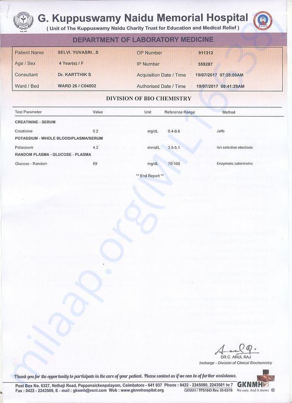 BIO CHEMISTRY REPORTS 1