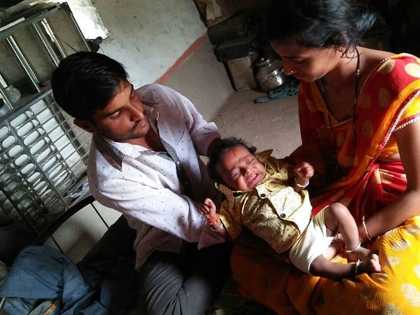 Help 4-Month-Old Arush undergo a liver transplant