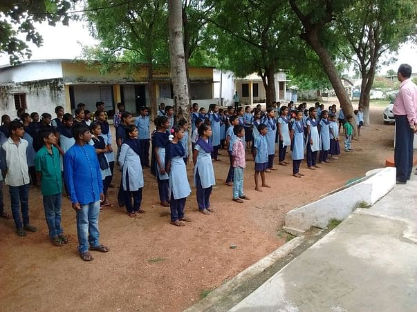 Support 127 Poor Students in Govt School And Plantation Activities.