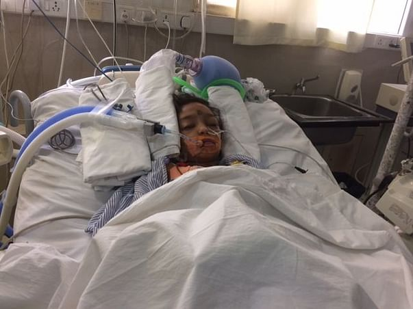 A Brain Tumor Has Left 10-year-old Shraboni As A Breathing Corpse.