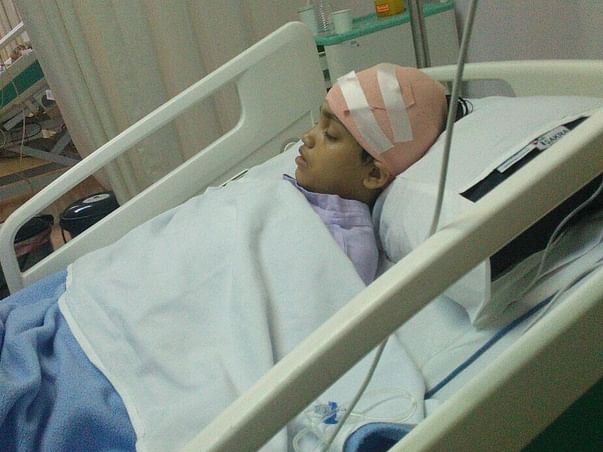 A Single Mother Is Struggling To Save Her 12-year-old From Brain Tumor