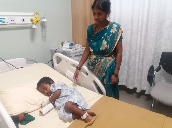 This 1-year-old Could Not Breathe Or Speak And Needs Your Help