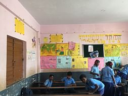 Colouring The Life Of Kids At Doddanekundi Government School