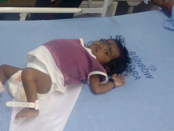 10-month-Old Rithvika Cries Herself To Sleep Every Single Night
