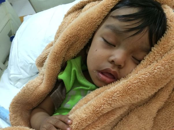 Help 2-Year-Old Saavi find an A+ donor to Undergo Kidney Transplant