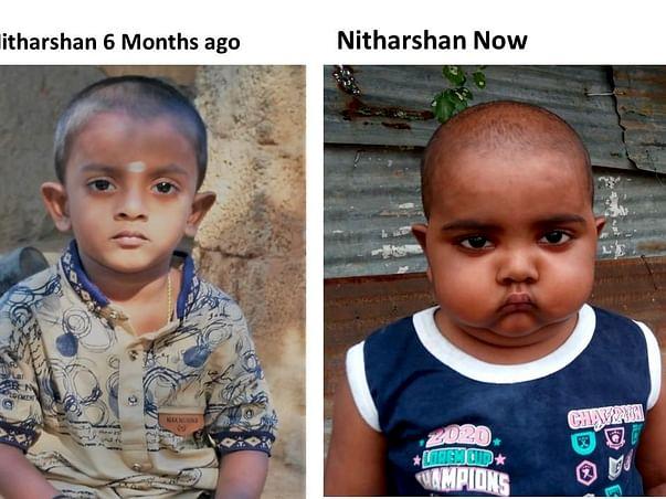 Help Nitharshan Undergo Stem Cell Transplant