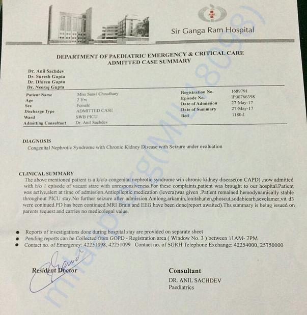 Saavi's Report
