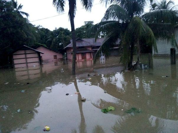 Assam Flood Nagaon District