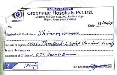 Greenage hospital bill