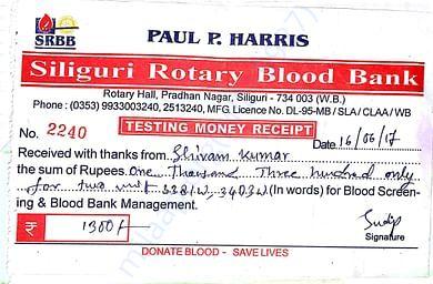 Blood bank bill