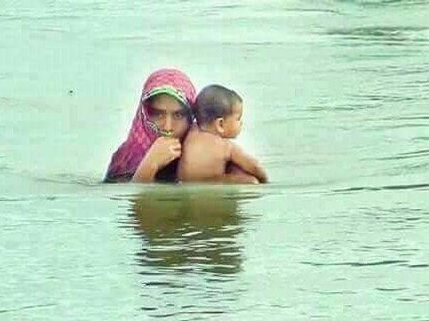Help to buy medicine and food in devastating flood in West Bengal