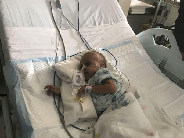 Baby Lovepreet can be saved if he can continue his treatment