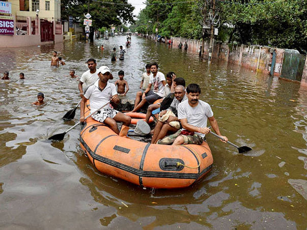 Help  flood victims