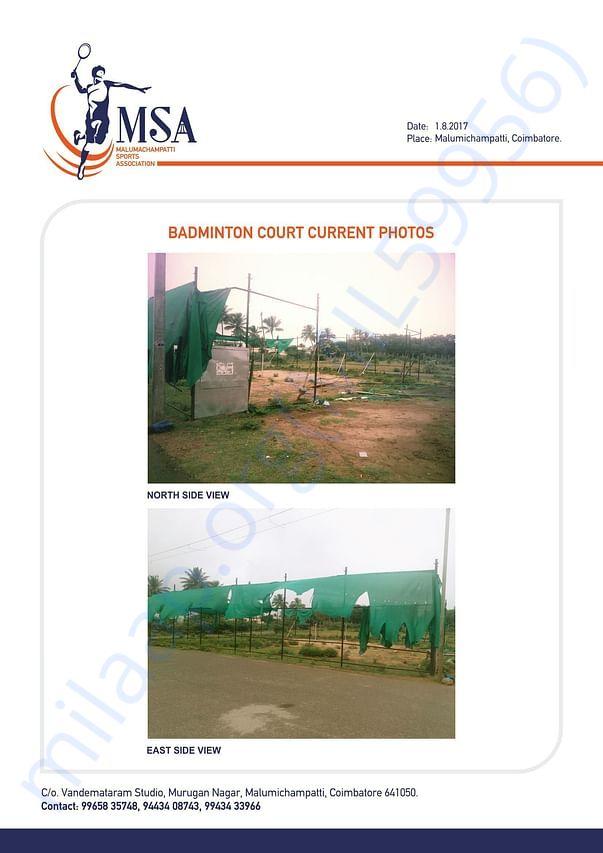 Current Badminton Court Photos