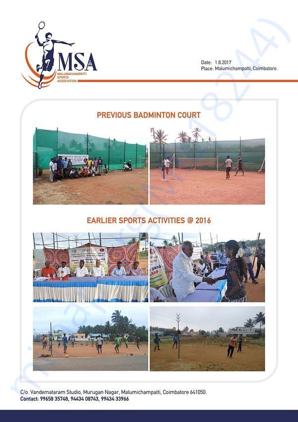 Previous Court Photos & Earlier Sport Activities