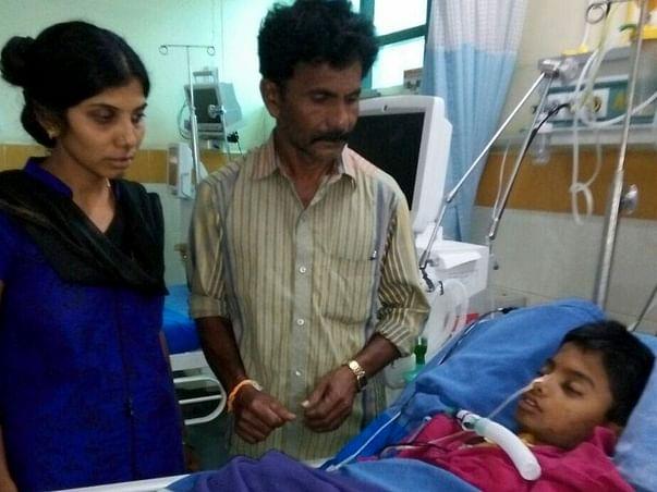 Help Veeresh a Farmer to save his Son !