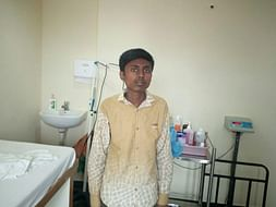 At 26, Koushik weighs only 33 kgs and has already had 6 surgeries