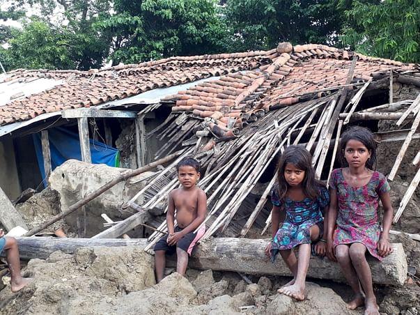 Help rehabilitate flood hit Singhwahini Village, Sitamarhi