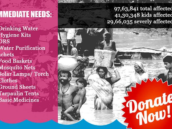 Help In An Emergency: Bihar Flood Appeal 2017 #BiharFloods2017