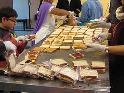 Support Me In Feeding Poor Children #SevaSandwich