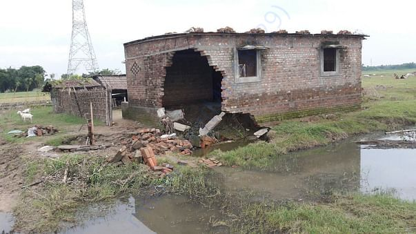 Condition of house built Cemented is not safe