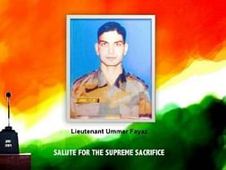 I am fundraising to come together for Lt Umer Fayaz and his family