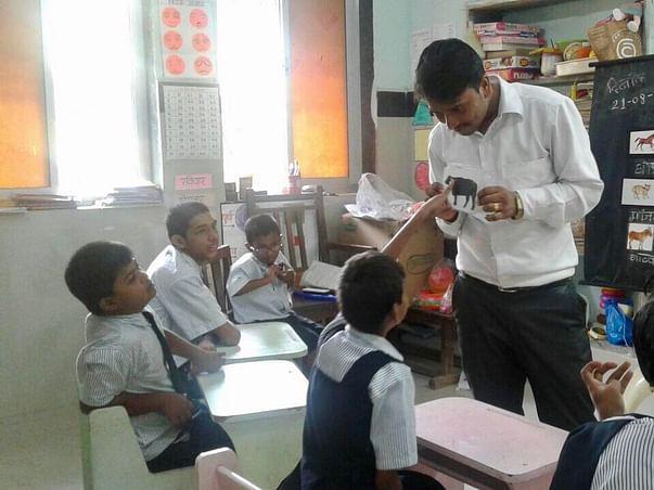 Show me the world beyond - #Kinnaligoesto helps to educate special kid