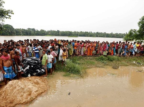 Helping The Much Needed Flood Affected People Of West Bengal