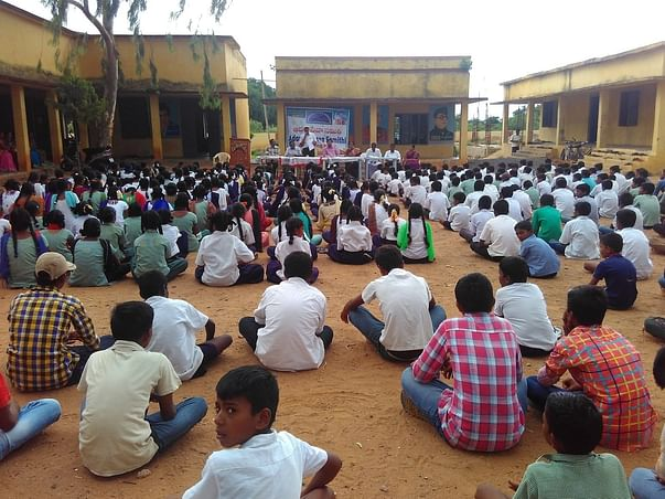 Library In Rural Area For 500 School Children