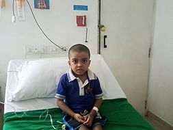 Help 5 year Old Reshikesh Who Has White Blood Cancer