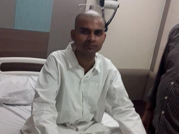 Amit Tripathi 24 year old diagnosed cancer of esophagus