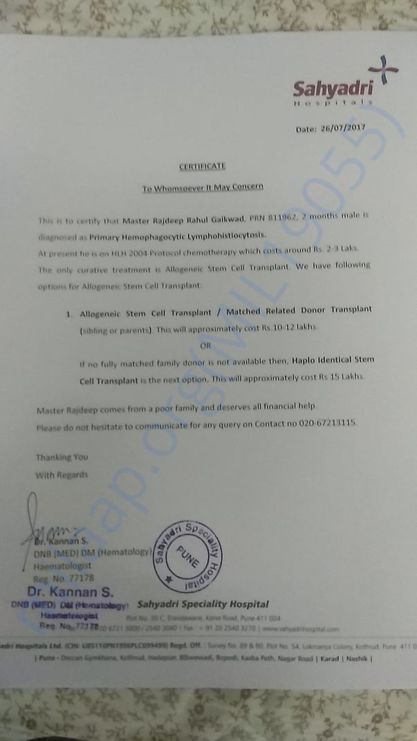 Doctor certificate and Estimate