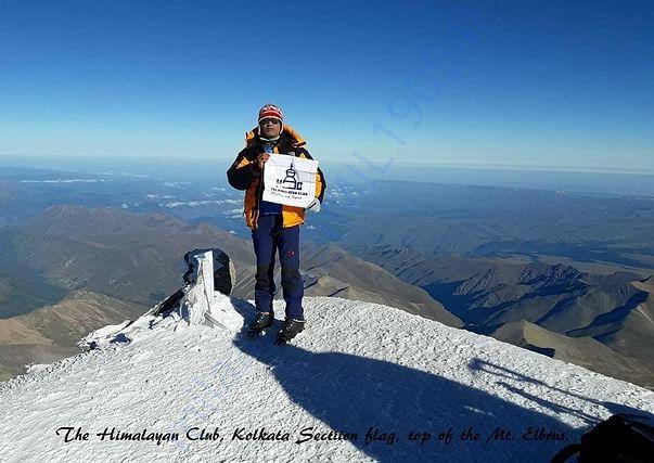 Mt. Elbrus (5642 m) highest point of Europe.