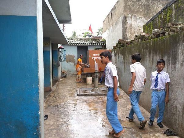 Help build sanitation facilities in school for underprivileged kids