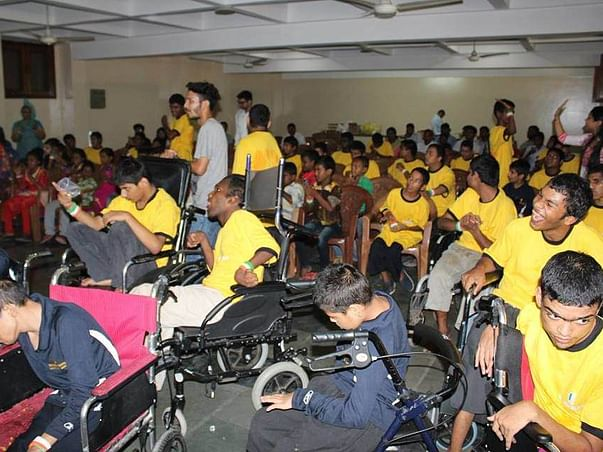 Help The Specially Abled Children of Deep Ashram to Color Their Dream!