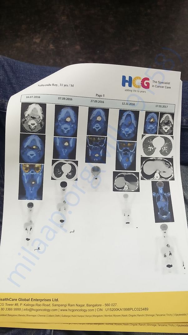 Discharge summary and PET Scan-11