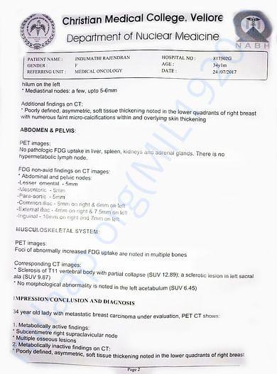 Whole Body PET-CT Study of Indhumathi  - Page 2